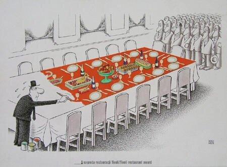 Prace nagrodzone przez restaurację Tivoli