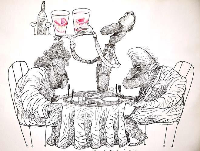 Rysunki z galerii SATYRYKONU
